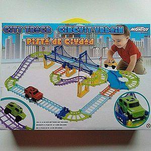 Railway Race Track builder Set with a car 40 Pcs